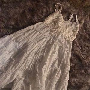 Hippie crochet dress